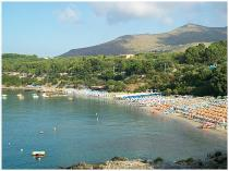 Spiaggia vista dall'alto Villaggio delle Sirene