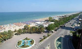 Spiaggia d'argento ad Alba Adriatica