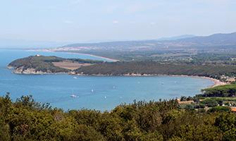 Golfo di Baratti in Toscana
